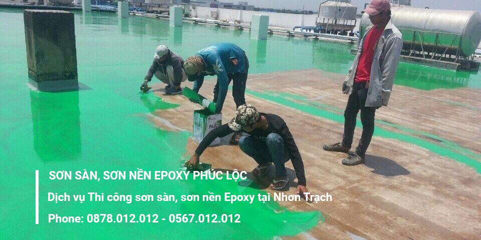 Dịch vụ thi công sơn sàn Epoxy tại Nhơn Trạch