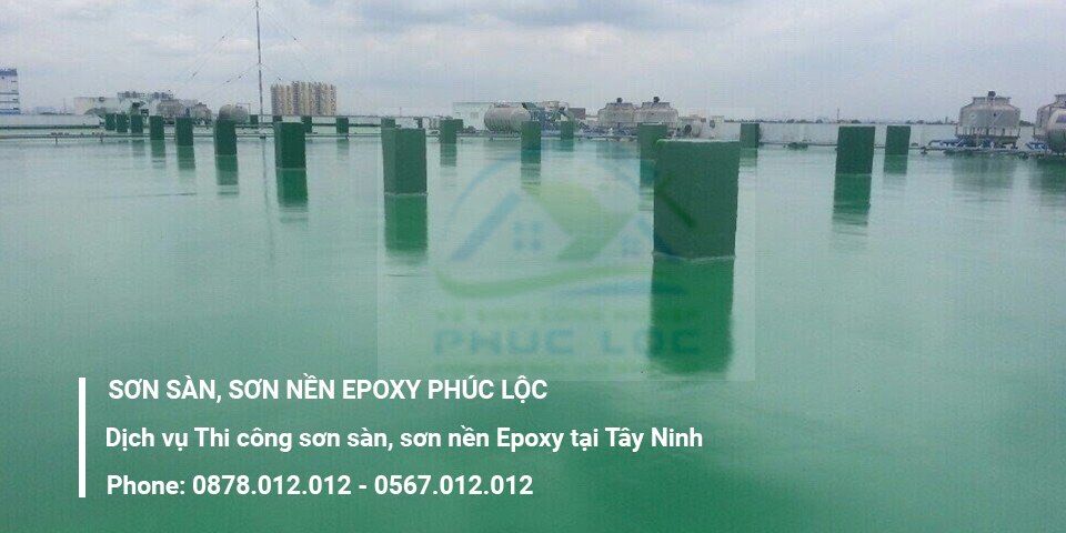 Dịch vụ thi công sơn sàn Epoxy tại Tây Ninh