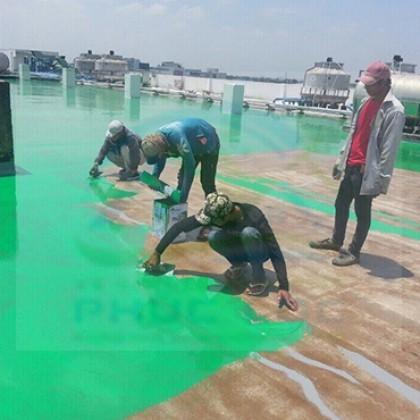 Dịch vụ Thi công sơn sàn, sơn nền Epoxy tại Long An