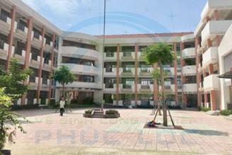 Dự án vệ sinh Trường tiểu học Định Phước ở Bình Dương