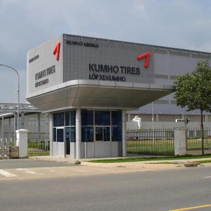 Vệ sinh định kỳ công ty kumho ở Mỹ Phước 3